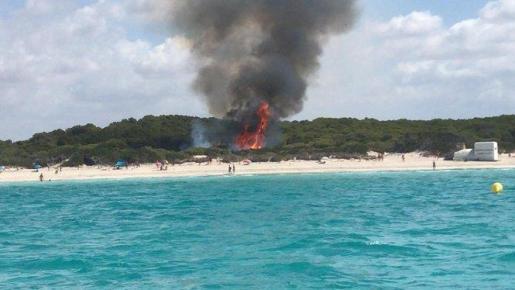 Fire In Majorca
